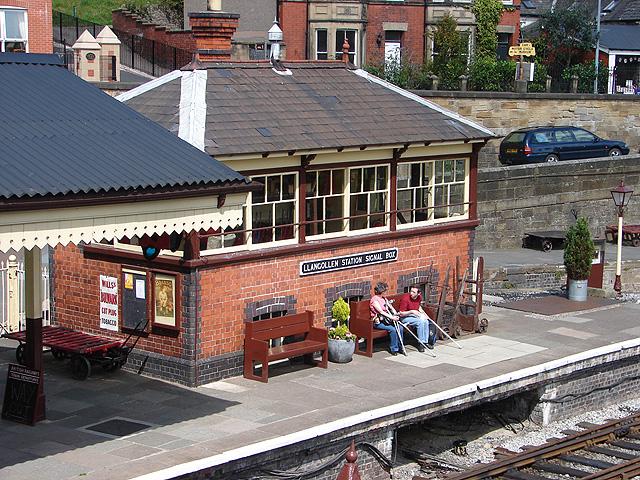 Llangollen Station Signal Box