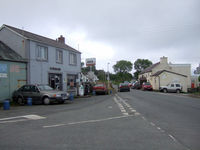 Tegryn village centre