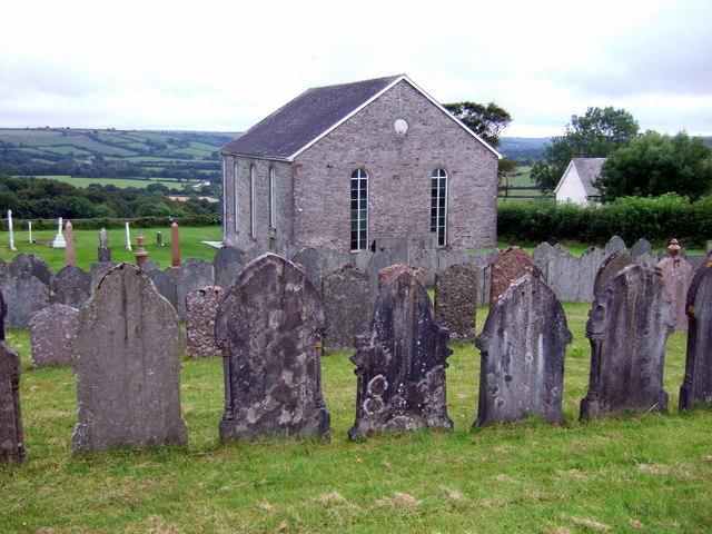 Llwynyrhwrdd Independent chapel