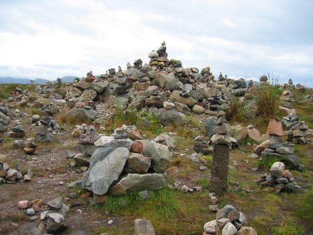 Rock art at the Loch Loyne viewpoint