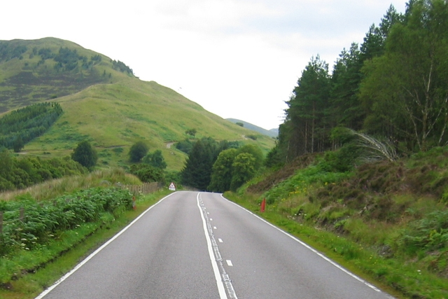 Wade's Military Road at Glenfintaig