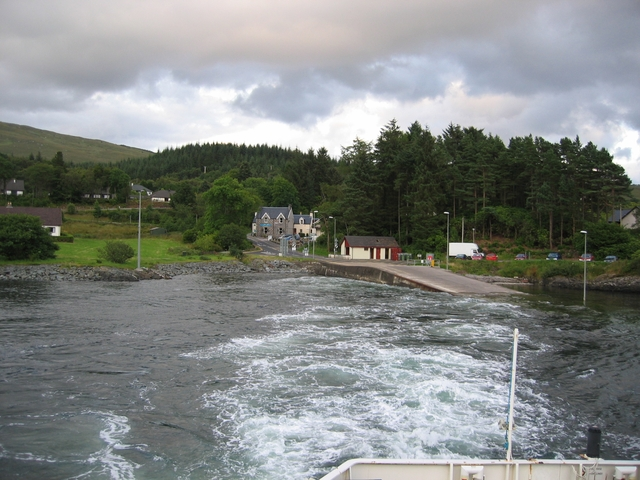 Nether Lochaber Slipway and the Corran Inn