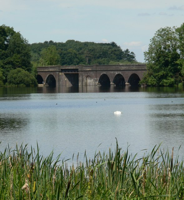 Viaduct over Swithland Reservoir
