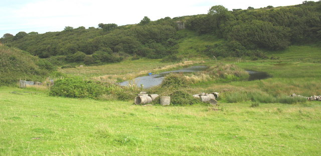 SW extension of the Cors Goch marsh