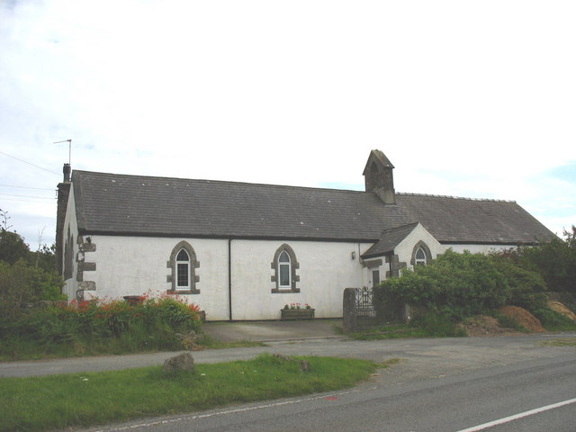 The former St Andrew's Mission Church now converted into a dwelling
