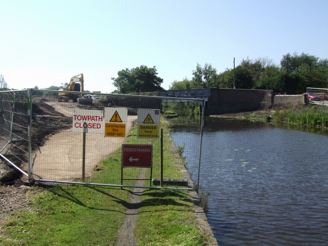 Roadworks at Pelsall Road Bridge