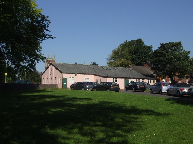 Church hall on Pelsall Common