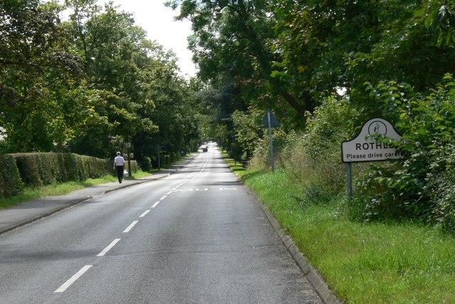 Entering Rothley along Swithland Lane