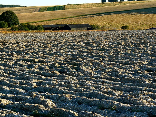 Ploughed field, south of Easton Royal