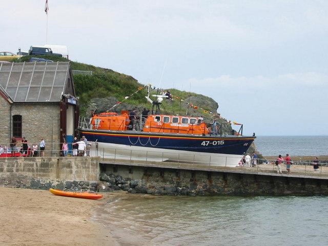 Porthdinllaen lifeboat