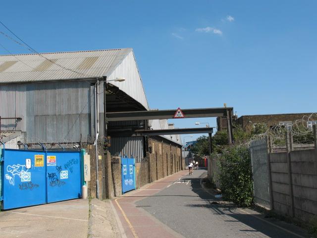 Cory's Barge Works, Charlton Riverside