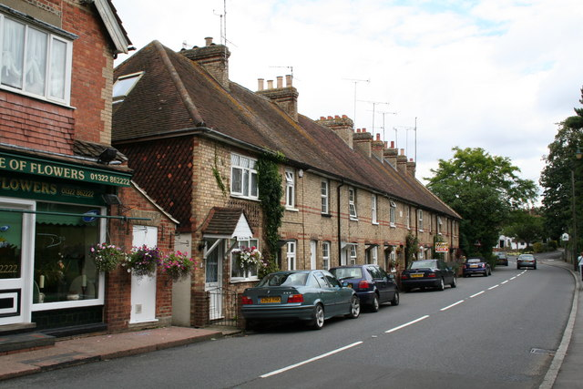 Artisans' cottages, High Street, Eynsford, Kent
