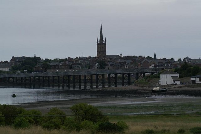 Montrose from the south shore of Montrose Basin