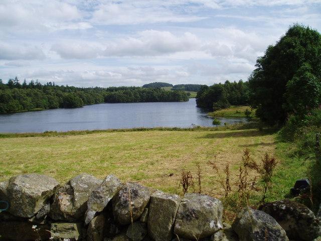 Earlstoun Loch.