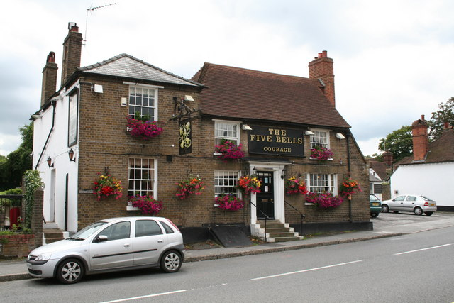 The 'Five Bells', Eynsford, Kent