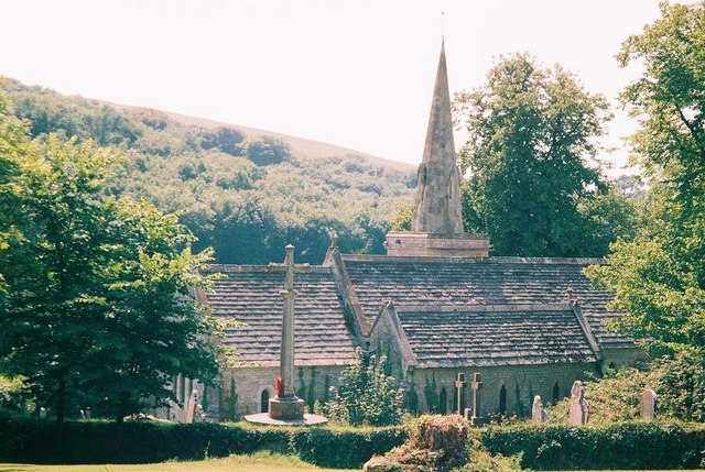 Littlebredy church: rear view
