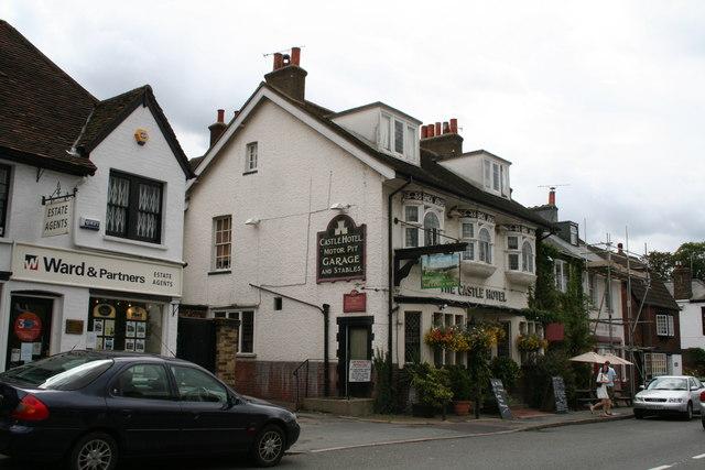 The 'Castle' hotel, Eynsford, Kent