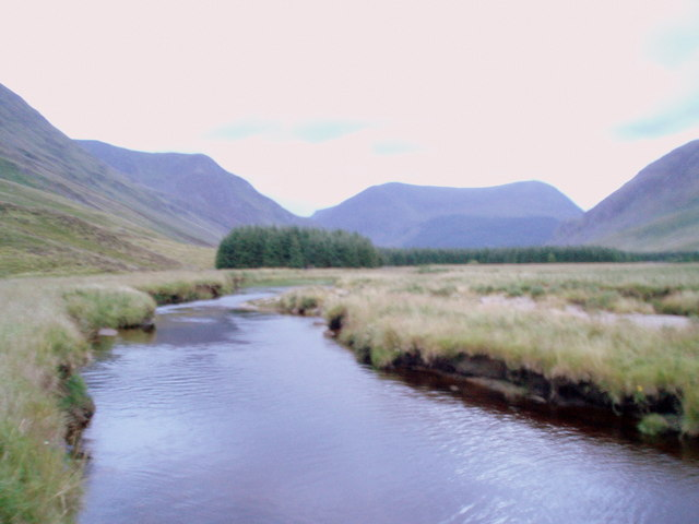 The South Esk, Glen Clova.
