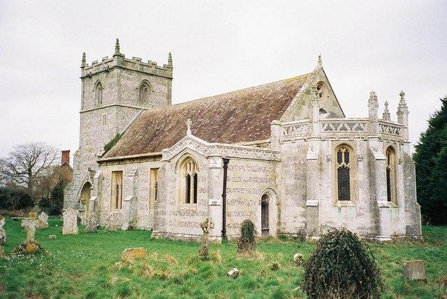 Long Crichel: parish church of St. Mary