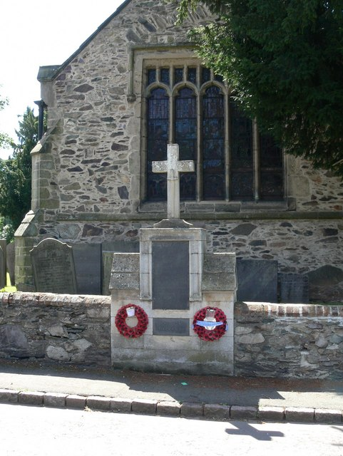 War Memorial, Woodhouse
