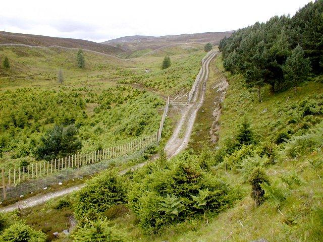 Access Track, Allt Coire Chlèirich