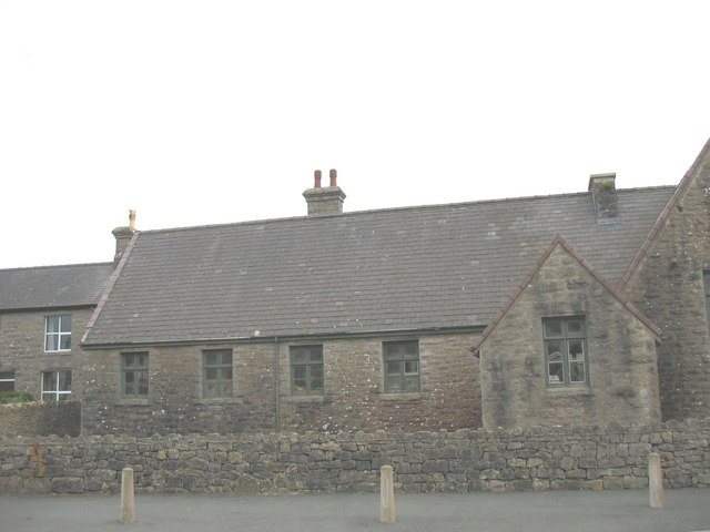 The old school at Tynygongl