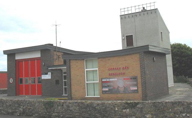 Gorsaf Dân Benllech Fire Station