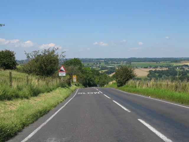 Descending Spreadeagle Hill