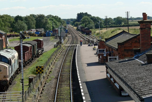 Quorn & Woodhouse Station