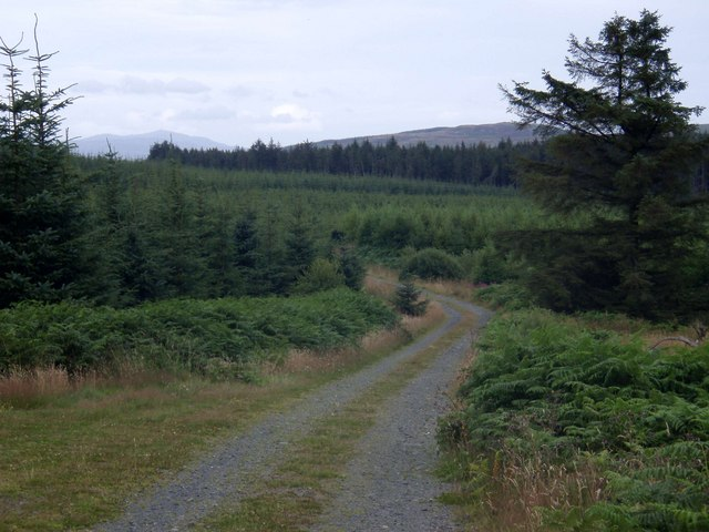 Looking down Crotteagh Hill
