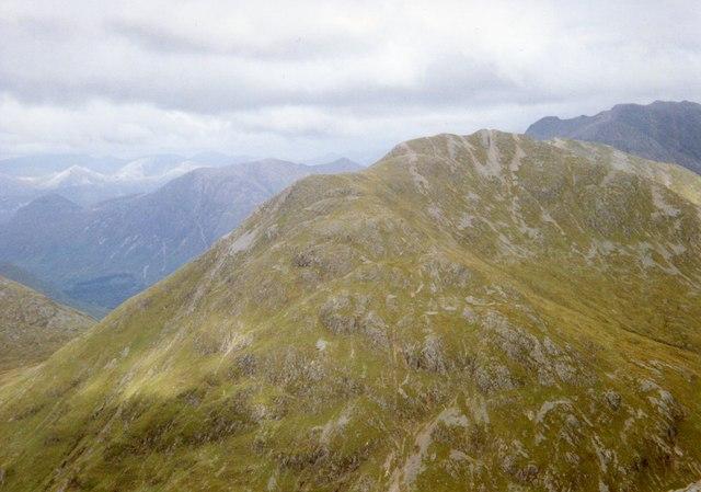 View from Beinn Fhionnlaidh.