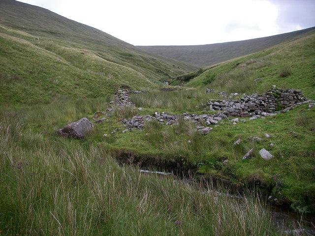 Ruins in Cwm Crew