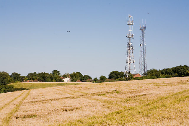Geoerge Reservoir and Telecommunication masts, Widley, Portsmouth