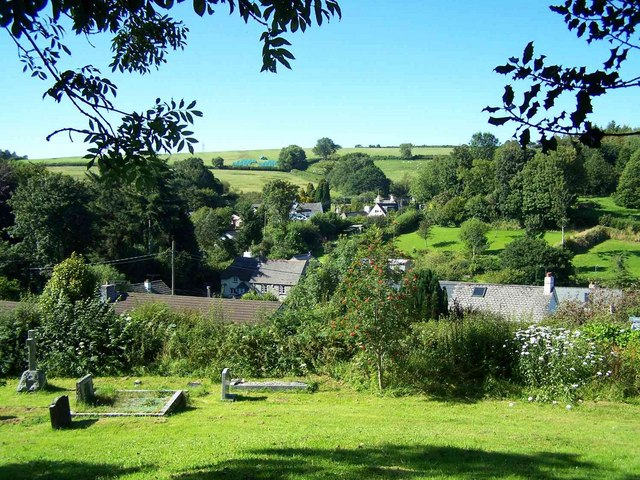 View From Rattery Churchyard