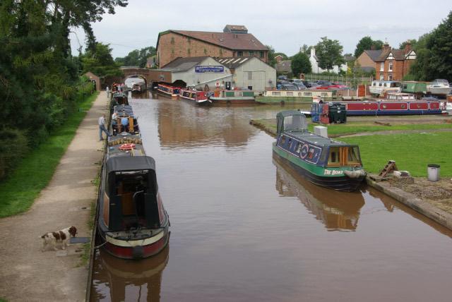 Shropshire Union Canal, Market Drayton