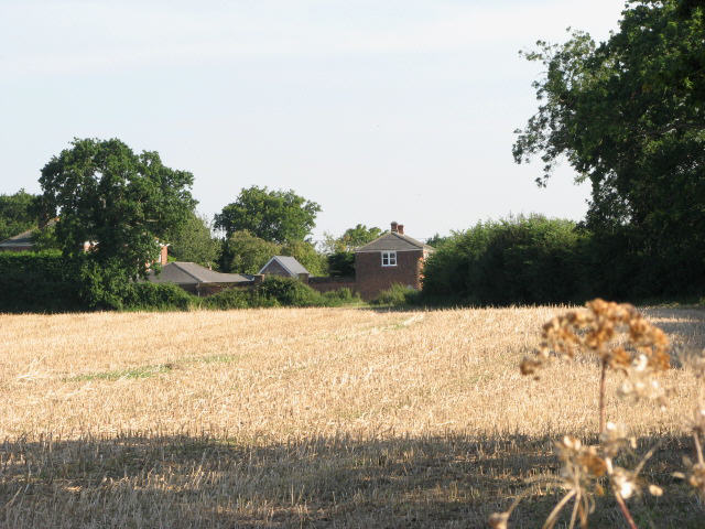 View to Old Farm House and Cottages
