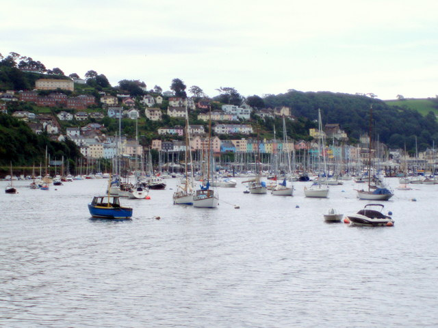 Looking Across to Yacht Moorings from the Upper Ferry.
