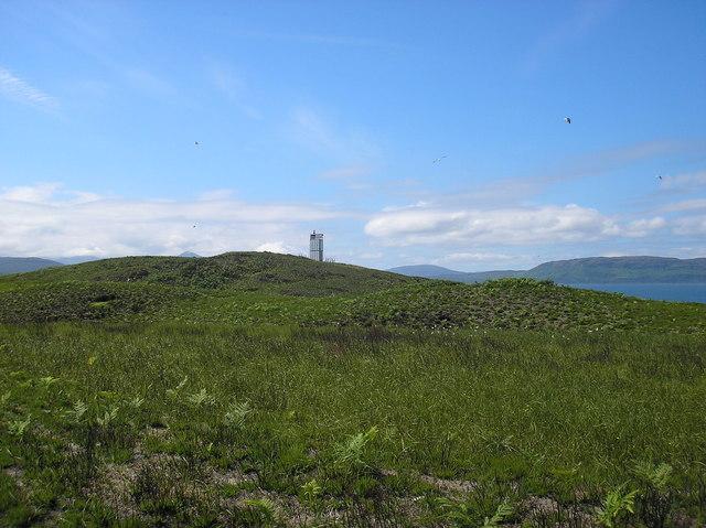 Lighthouse Across Eilean Beag