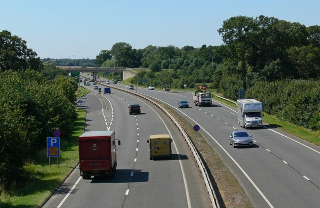 A6 north of Quorn