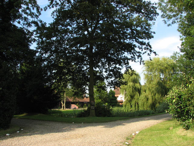 Entrance to Old Hall Farm