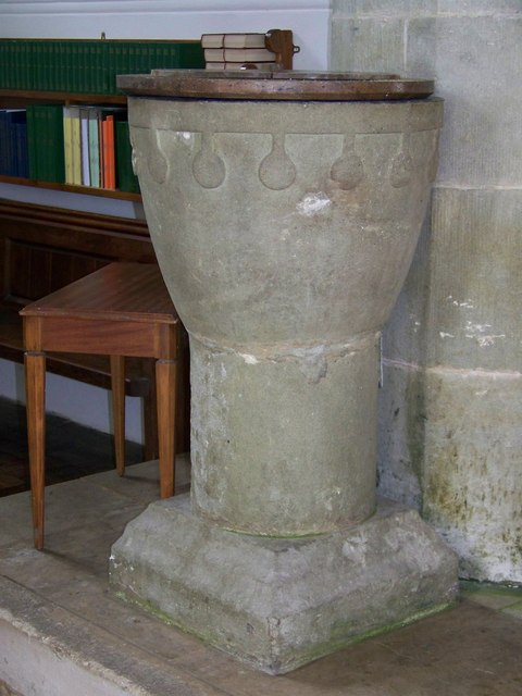 The Church of St James - Font