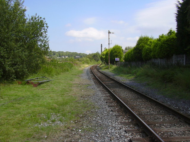 Line Towards Rawtenstall