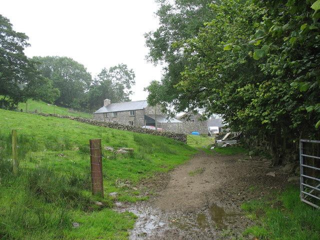 Ffermdy Bronasgellog Farmhouse