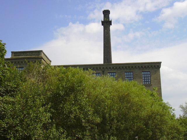 Detail of Hardman Mill