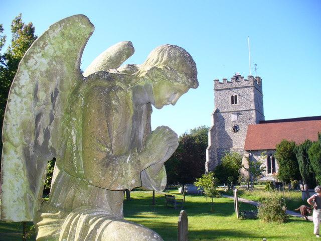Guardian Angel, Cookham Churchyard