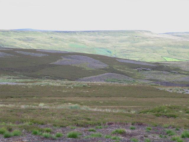 Moorland below Cuthbert's Hill