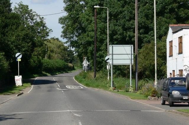 Nottingham Road near Barrow upon Soar