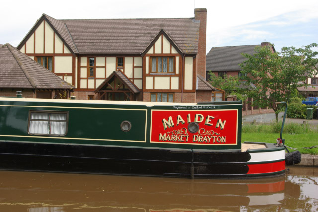 'Maiden' at Market Drayton