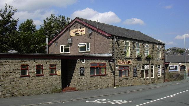 Railway Tavern. Bury Road.