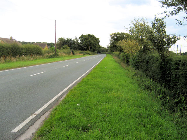 Looking Along The B5066